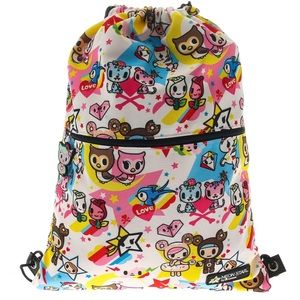 TOKIDOKI Drawstring Backpack Bag